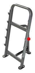 Bild von Exigo 5 Bar Barbell Rack Single Sided