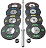 Bild von ATX® Weight Lifting Set HQ - 160 kg - Vorteilspaket!
